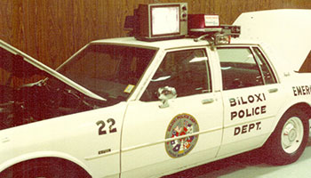 Historical Image Of Autogas Motor Fuel Vehicle Training On Police Vehicles