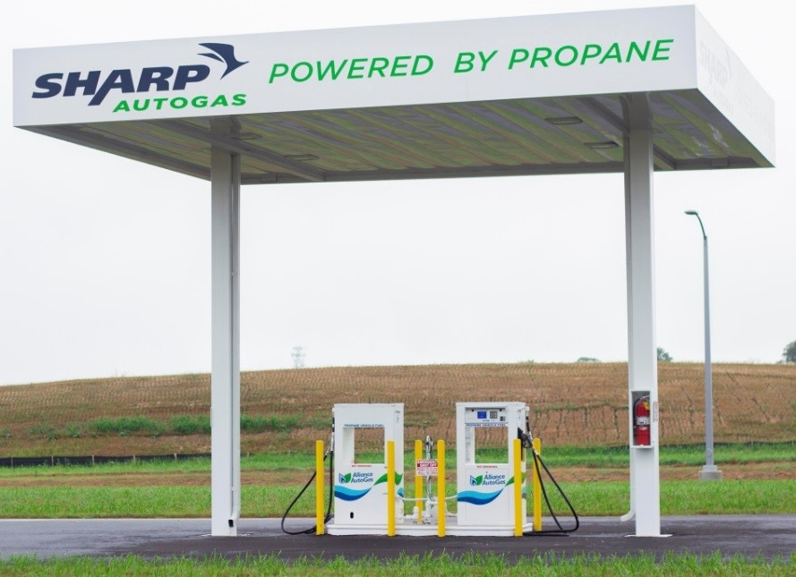 Sharp Autogas Fueling Station Delaware