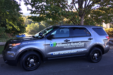 Alliance AutoGas Wrapped 2014 Ford Explorer