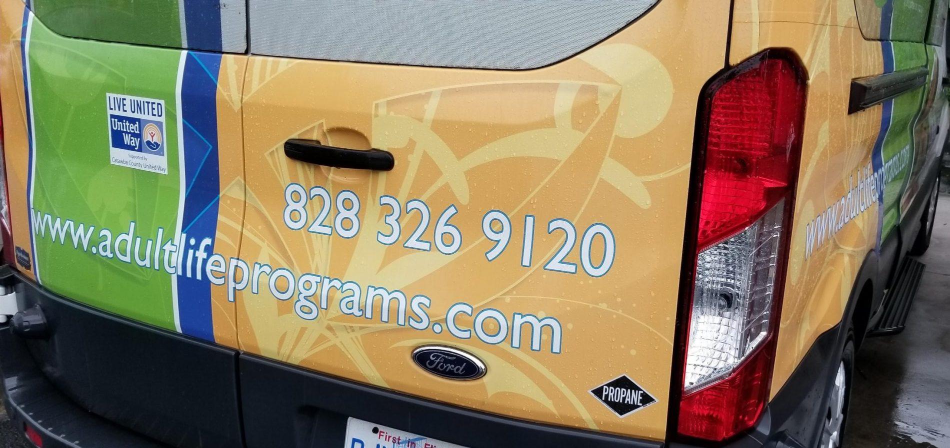 Propane Autogas Adult Life Program Vehicle