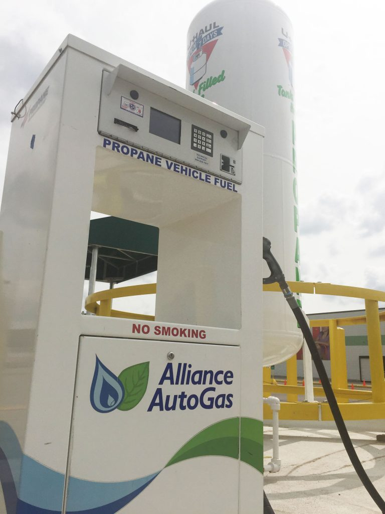 New Autogas Refueling Station